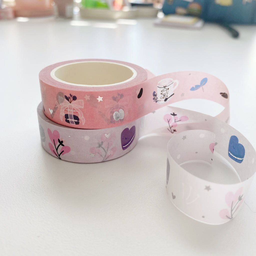 Bloomed Roses Set | Washi Tape
