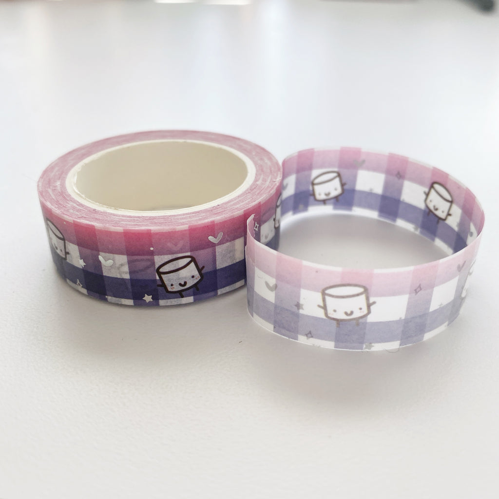 Maru Magenta Purple | Washi Tape