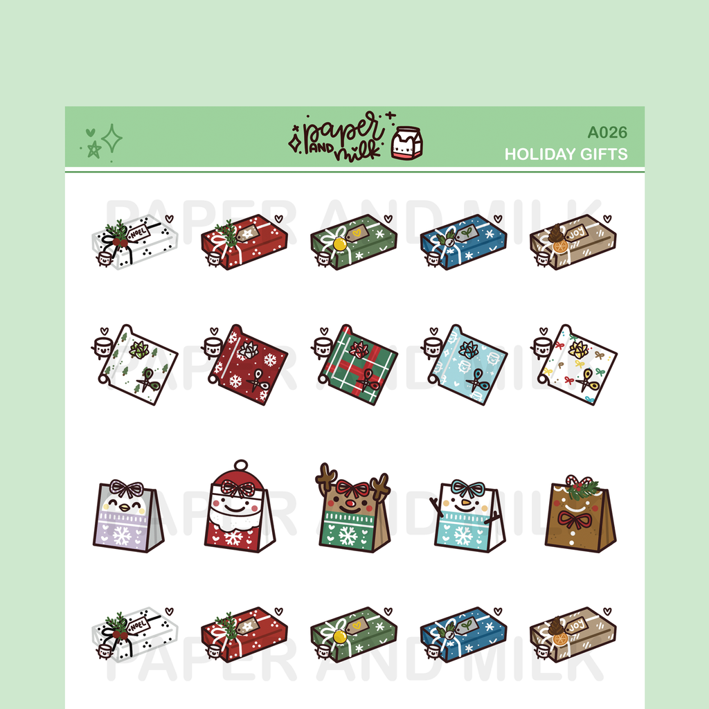 Holiday Gifts | Doodle Stickers