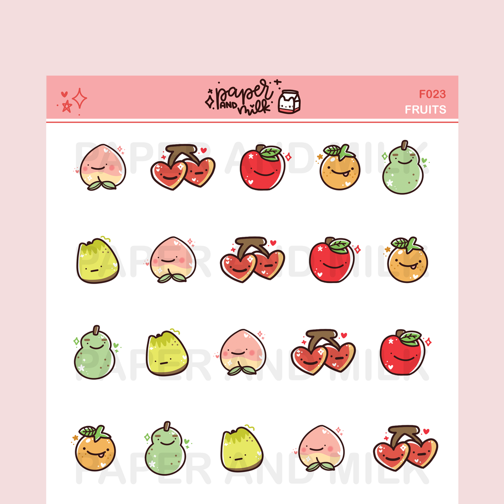 Fruits | Doodle Stickers
