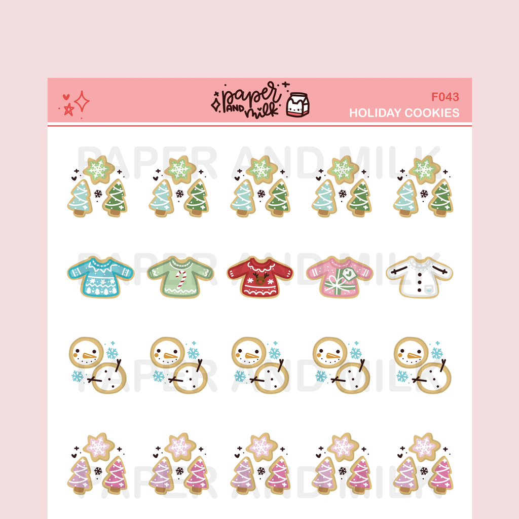 Holiday Cookies | Doodle Stickers