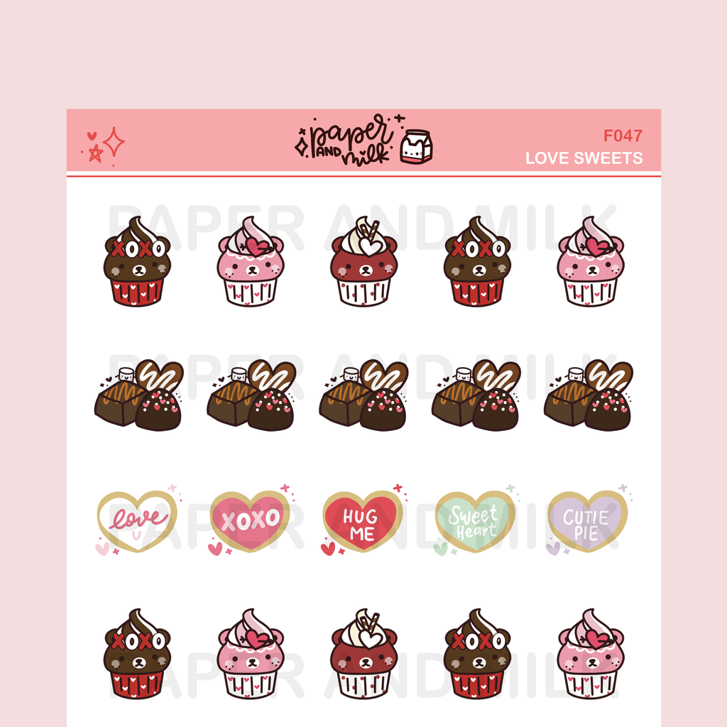 Love Sweets | Doodle Stickers
