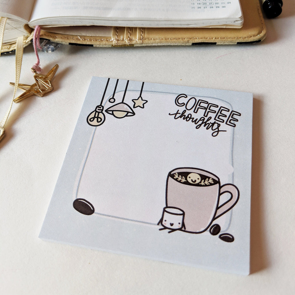 Coffee Thoughts | Sticky Notes