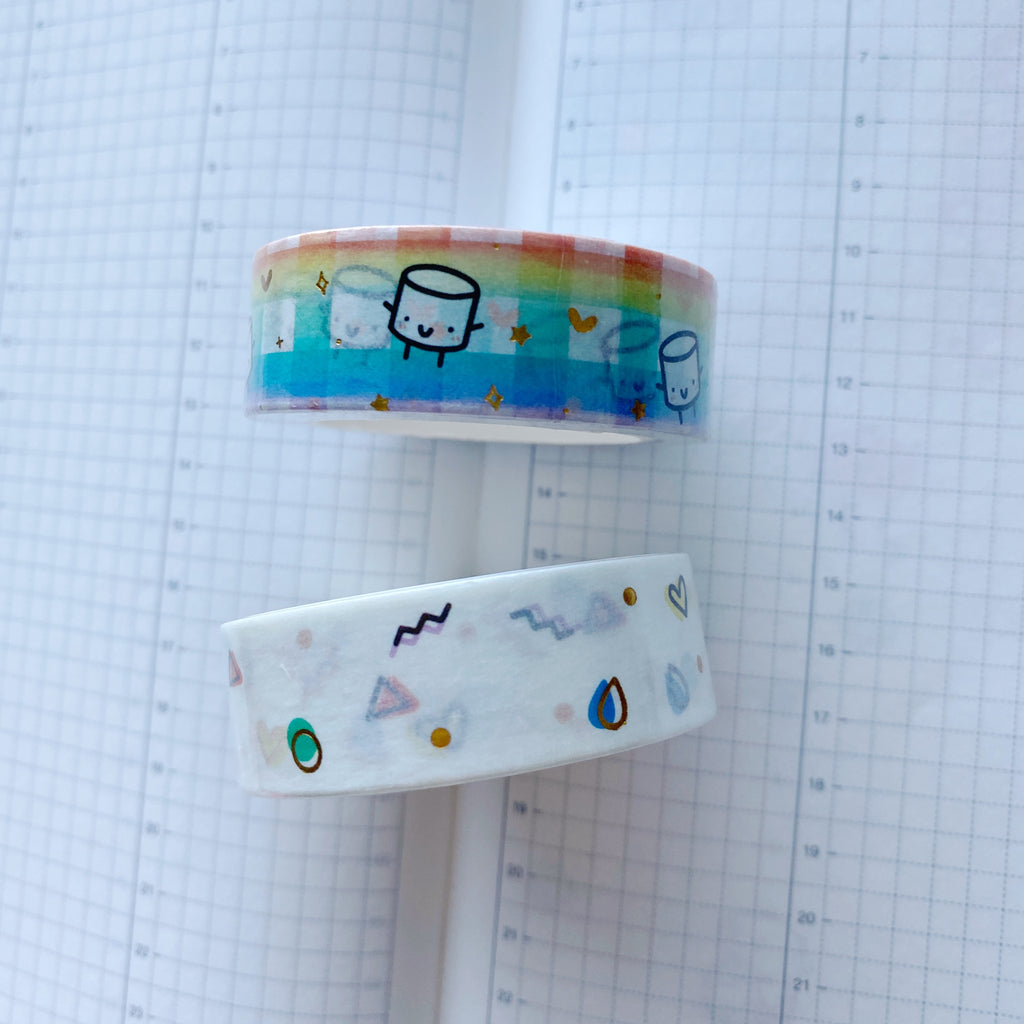 Maru Rainbow Set | Washi Tape