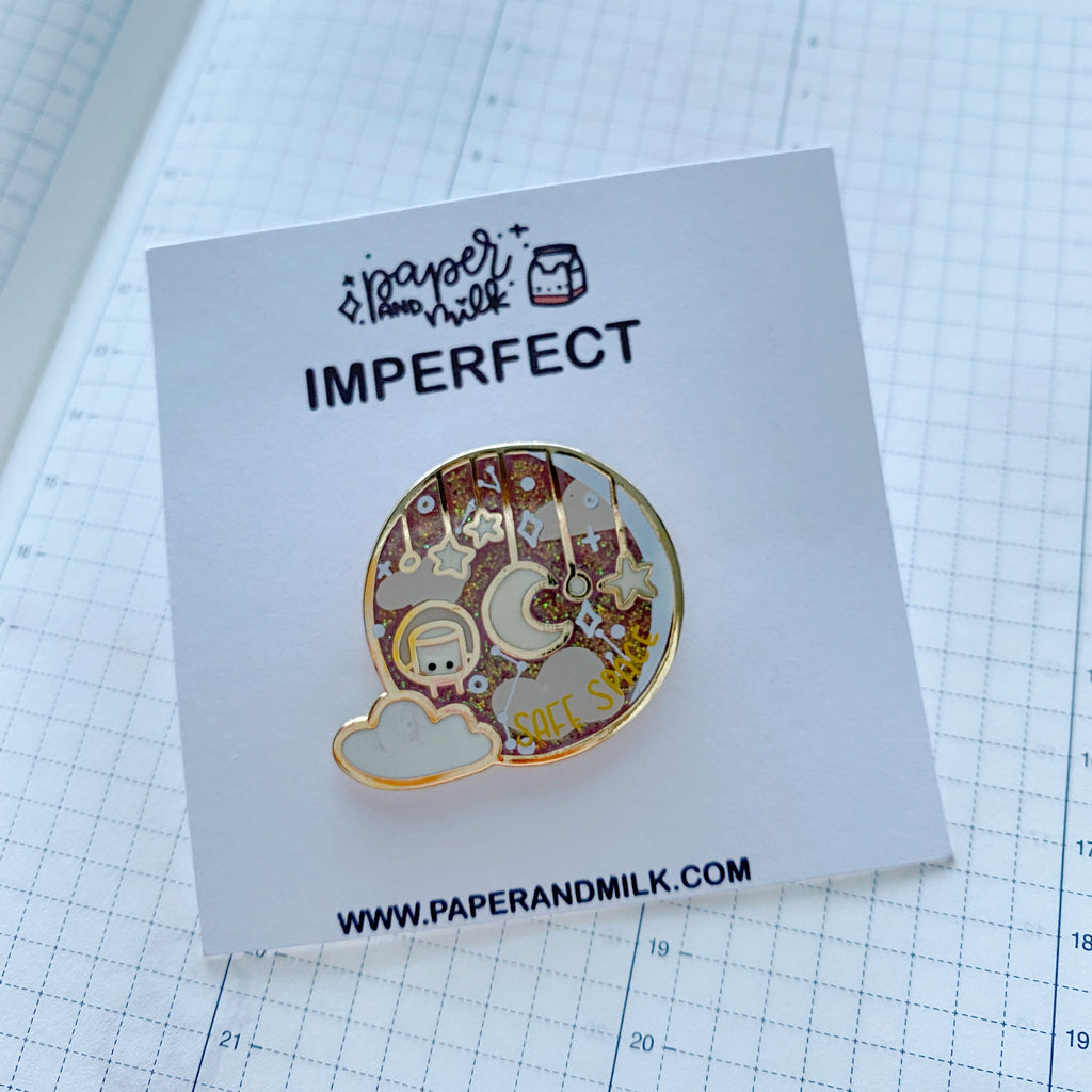 Imperfect Pin | Safe Space