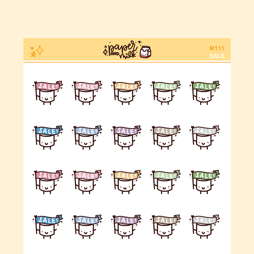 Sale | Maru the Mini Marshmallow Stickers