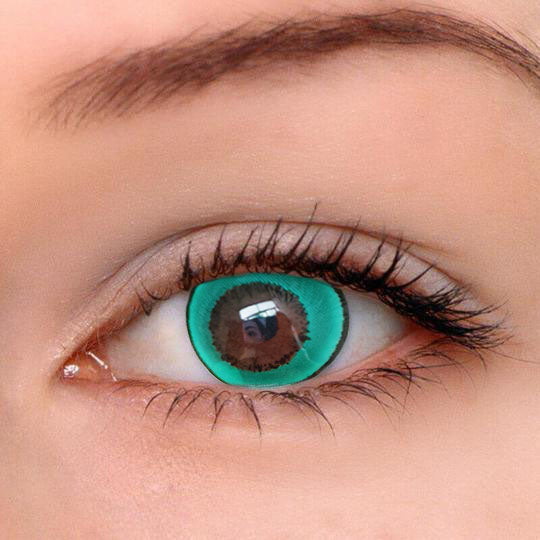 EyeMi® Fancy 1-Year Green Colored Contact Lenses