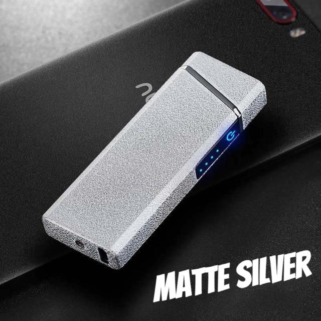 Touchscreen Double Arc USB Rechargeable Lighter
