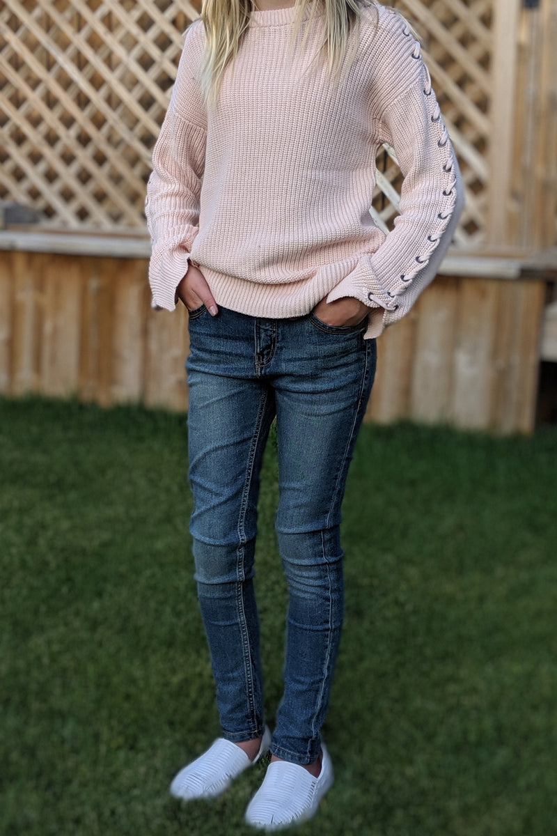 Dark Wash Skinny Fit Denim