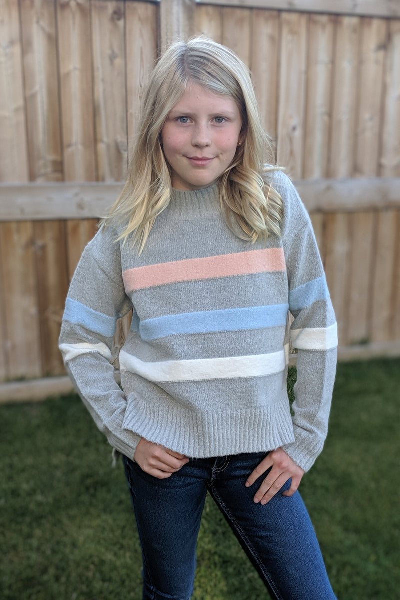 Pastel Stripe Sweater