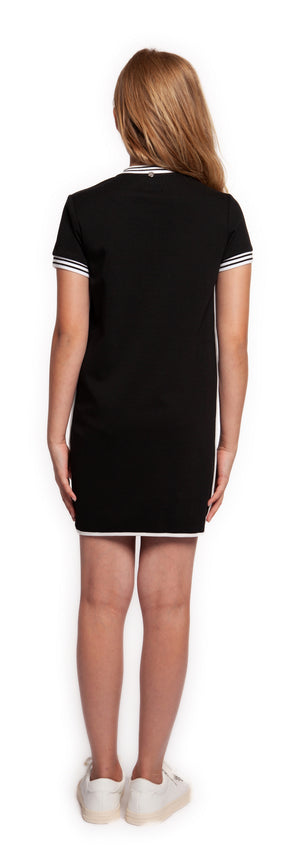Athletic Tape Knit Dress