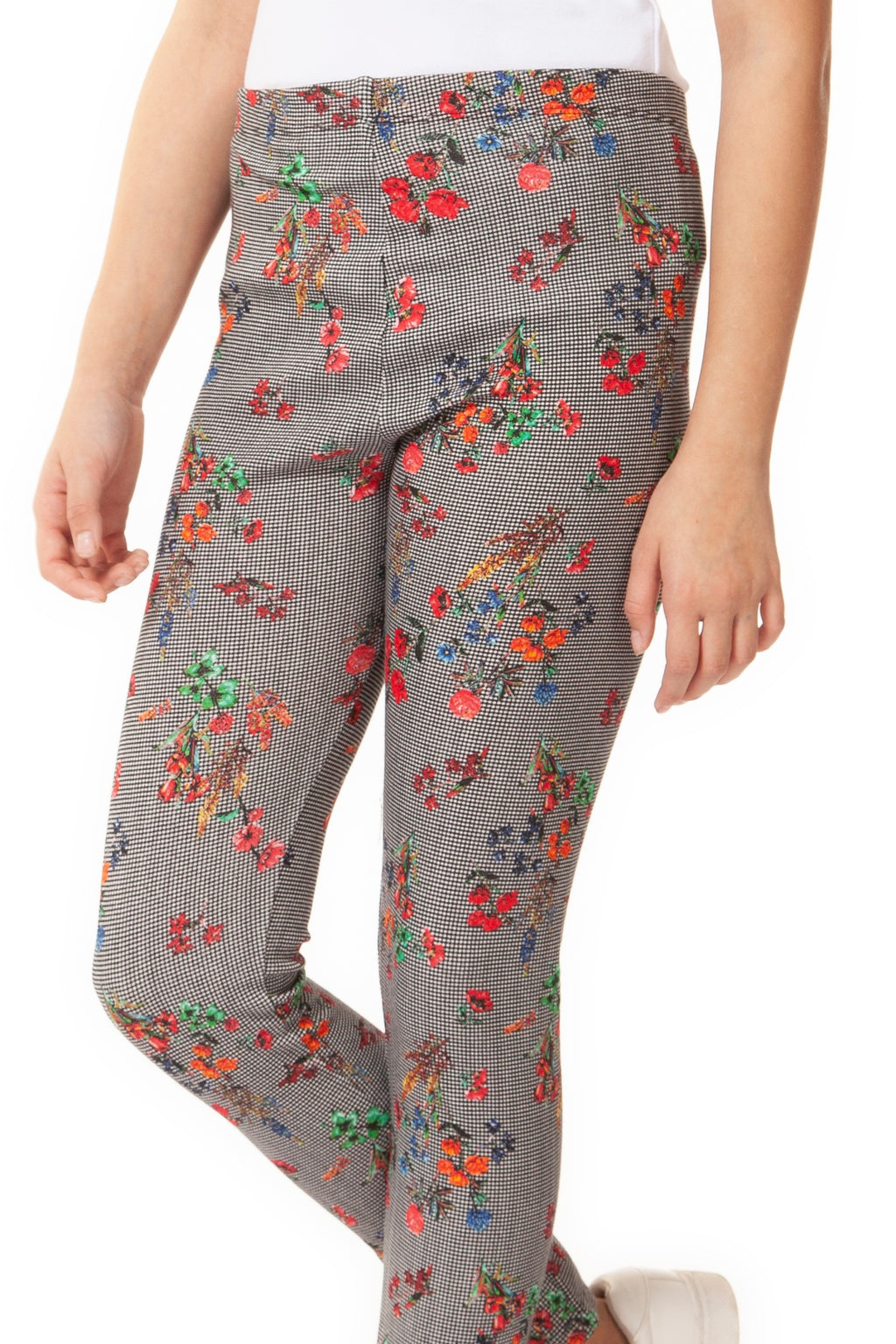 Leggings with Floral Print