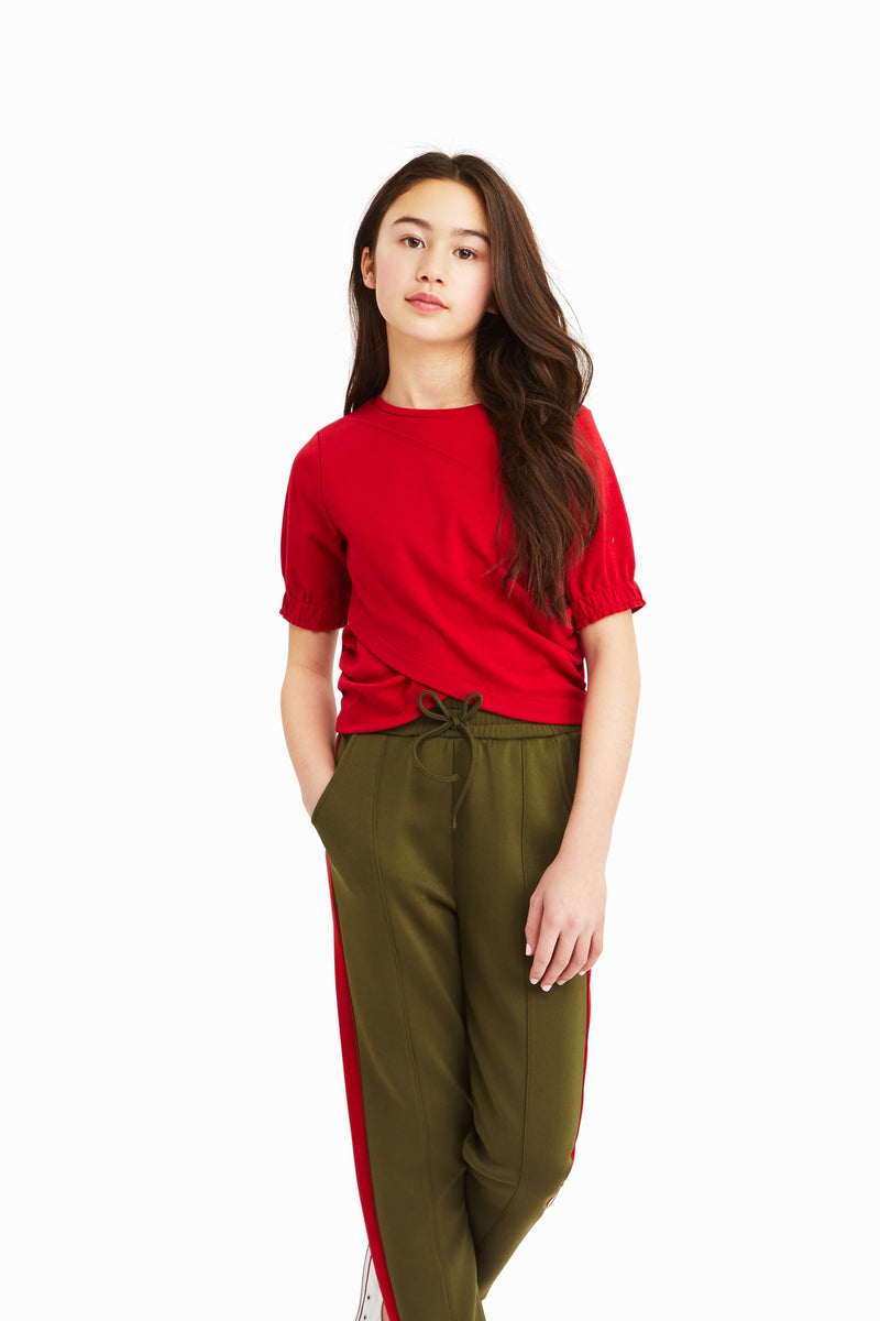 Averie Ponte Front Overlay Top