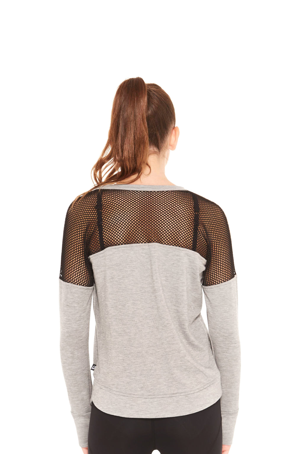 Fishnet Back Pullover