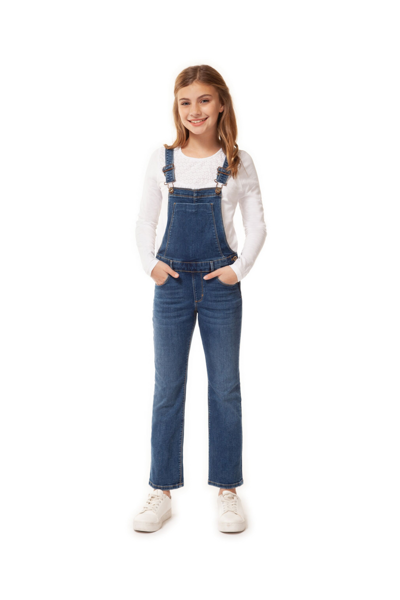 5 Pocket Denim Overalls
