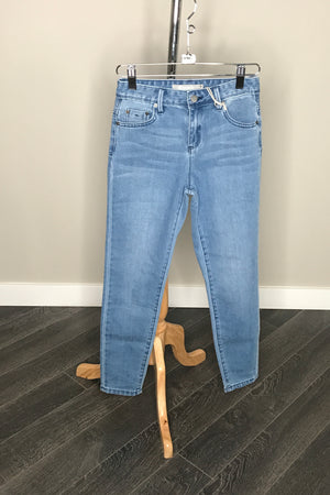 Five Pocket High Rise Mom Jeans