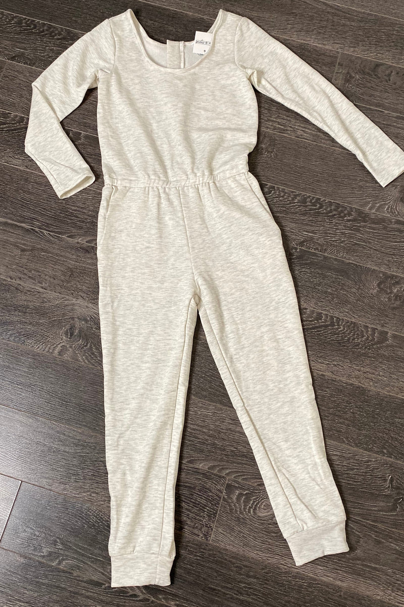 Long Sleeve Hacci Jumpsuit