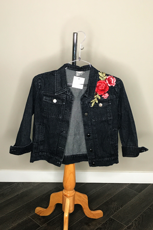 Rose Patch Jacket