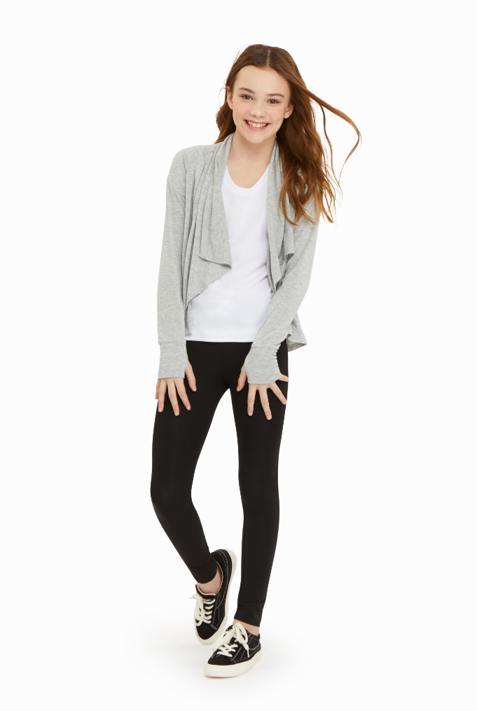 Cortsie Long Sleeve Wrap Cardigan