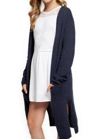 Long Sleeve Pocket Cardigan