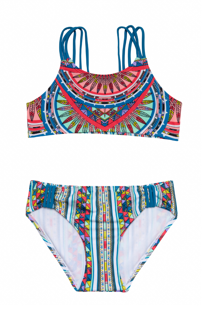 Digital Nation Two Piece Bikini