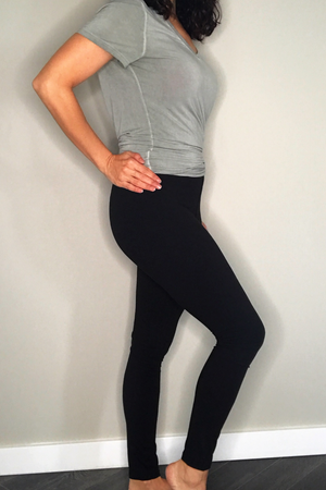High Waist Brushed Poly Legging