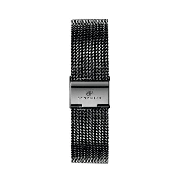 Black Mesh Strap - Sanpedro Watches