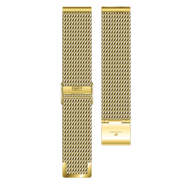 Gold Mesh Strap - Sanpedro Watches