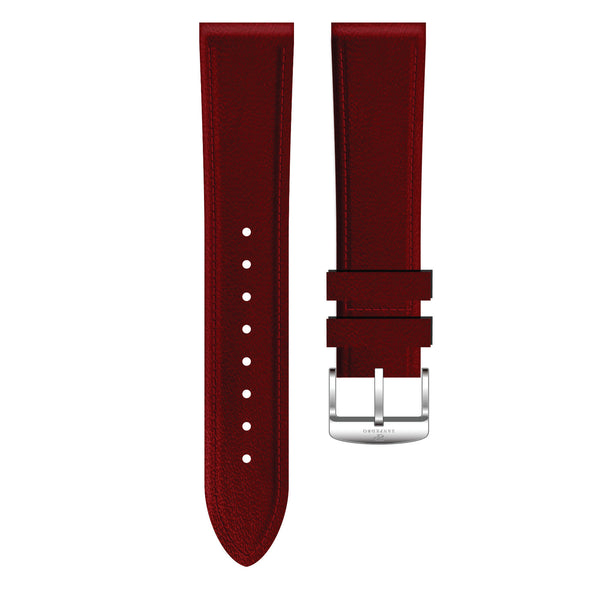 Mahogany Genuine Leather Strap - Sanpedro Watches