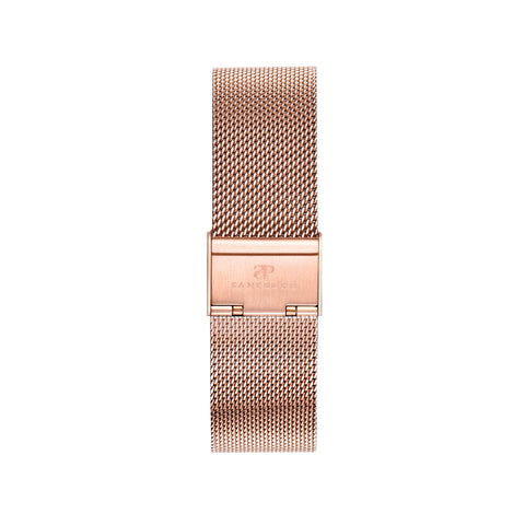 Rose Gold Mesh Strap - Sanpedro Watches