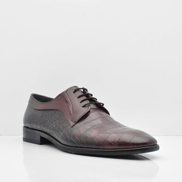 Clear Passage Leather Shoes - ZANE FASHION