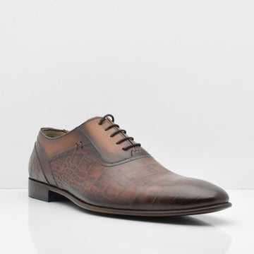 Mystery Man Leather Shoes - ZANE FASHION