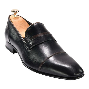 ZANE® Luca's Dress Loafer in Black  4255BLK - ZANE FASHION
