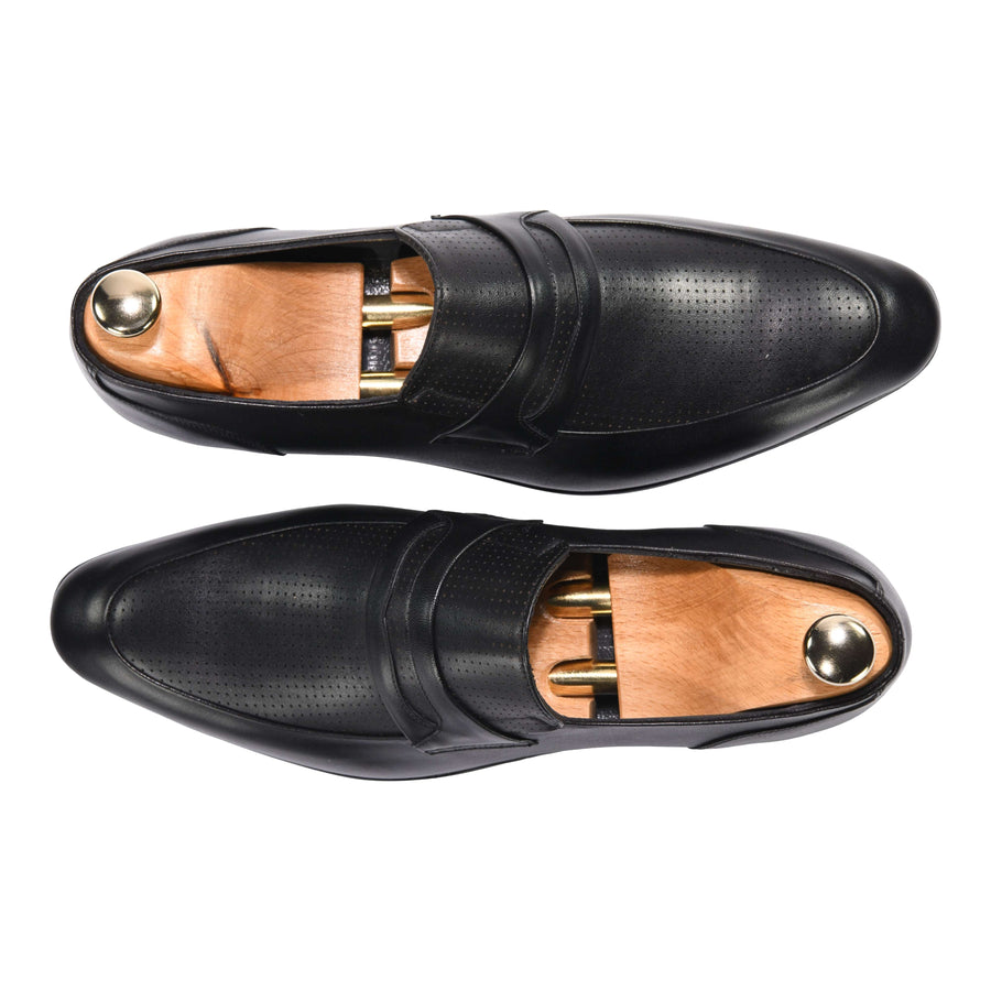 Francesco Loafer Classic in Black 4330BLK - ZANE FASHION