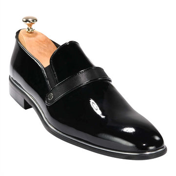 ZANE® Luigi Dress Loafer in Black 4640BLK - ZANE FASHION