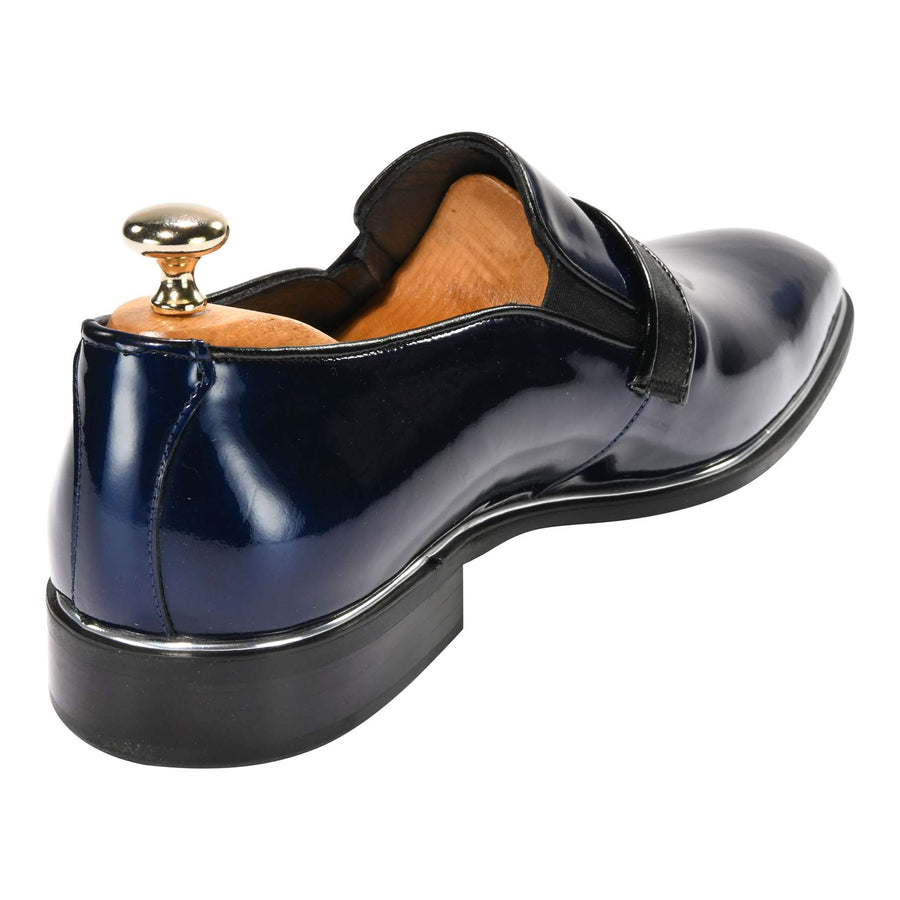 ZANE® Luigi Dress Loafer in Navy Blue 4640DBL - ZANE FASHION