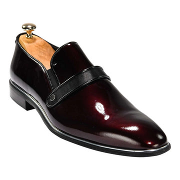 ZANE® Luigi Dress Loafer in Burgundy 4640WNE - ZANE FASHION