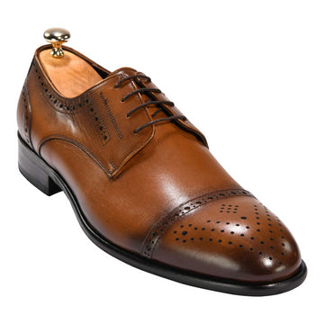 Salvatore Derby in Brown 4118BRN - ZANE FASHION