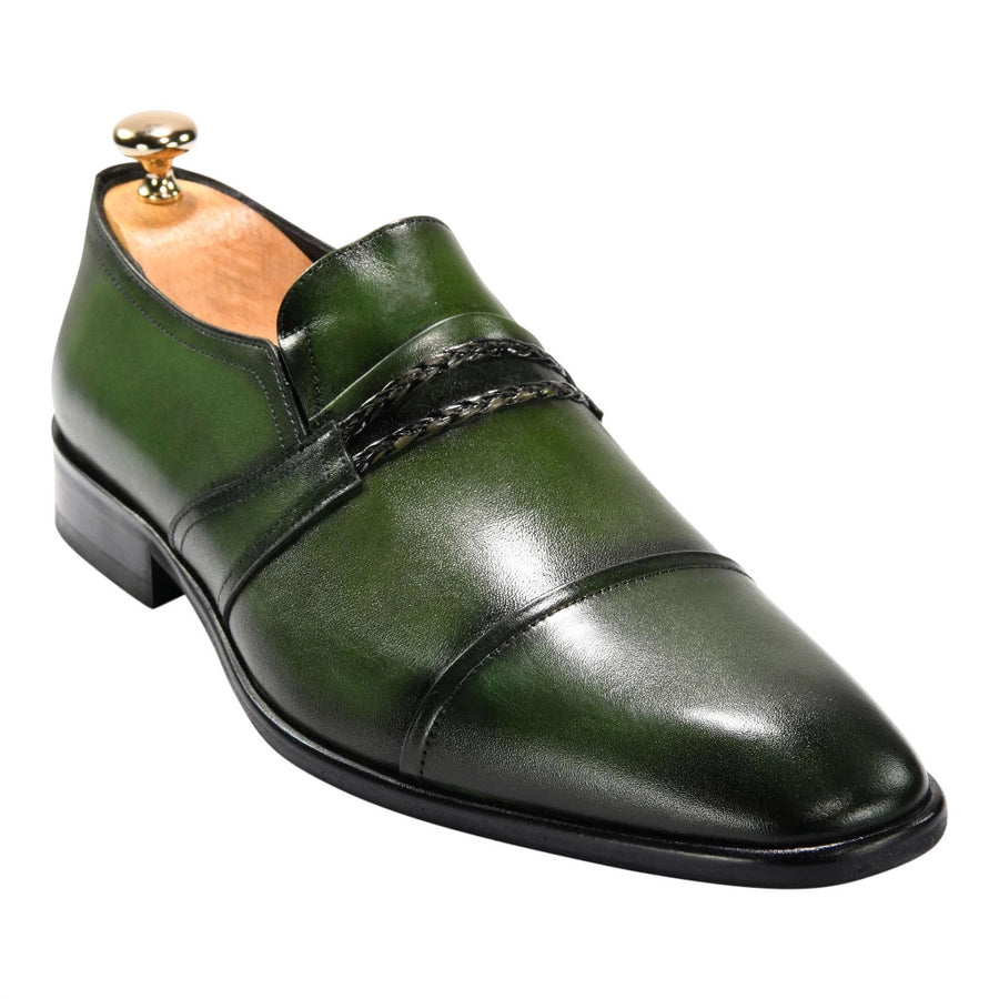 ZANE® Paolo's Loafer in Green 4116GRN - ZANE FASHION