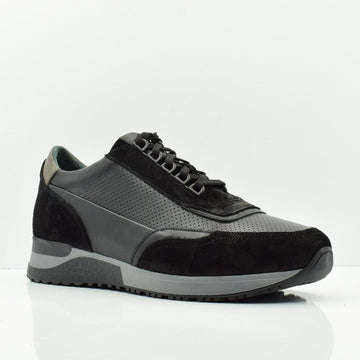 Virtuous Mind Black Casual Shoes - ZANE FASHION