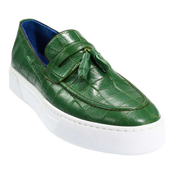 ZANE® Ronzo Loafer in Green 6363GRN - ZANE FASHION