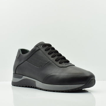 Perfect Twist Black Casual Shoes - ZANE FASHION