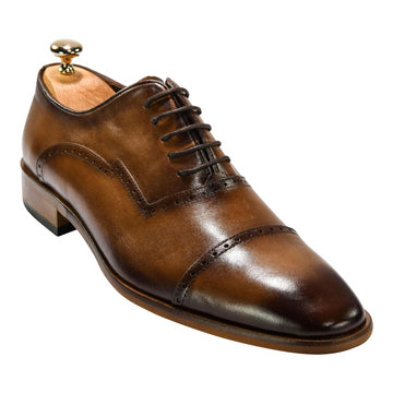 ZANE® Thomas' Derby in Brown 4112BRN - ZANE FASHION