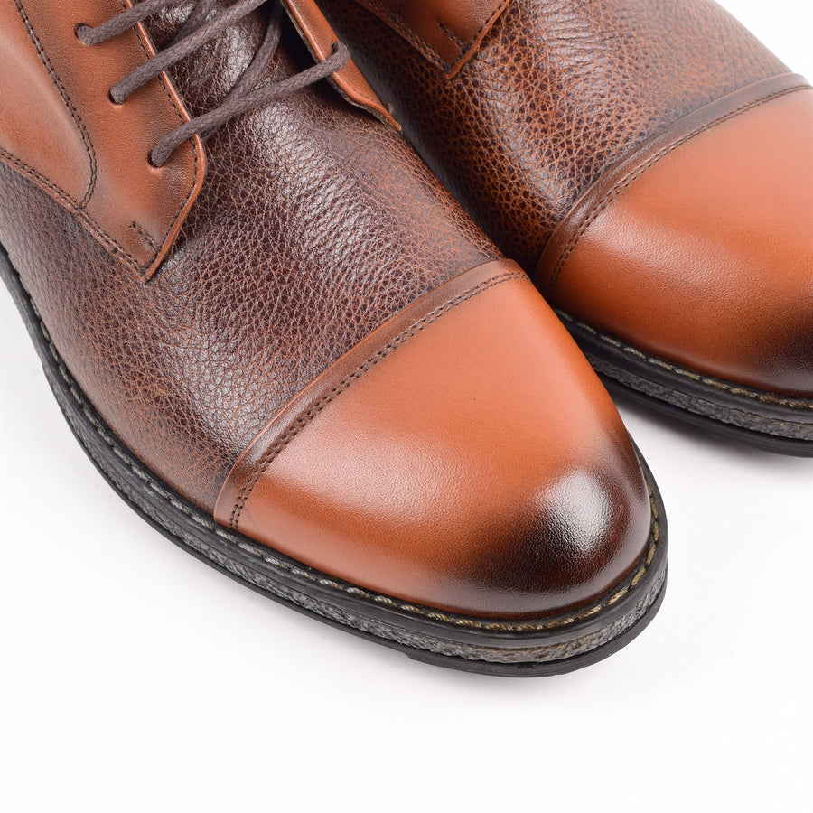 Just Vigilant Leather Boots - ZANE FASHION