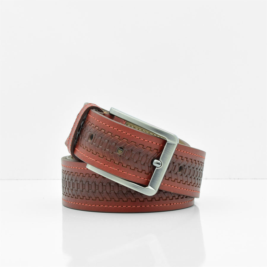 Men's Genuine Leather Belt Style#80147