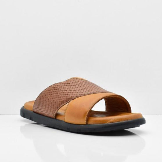 Sandals 7177BRN - ZANE FASHION