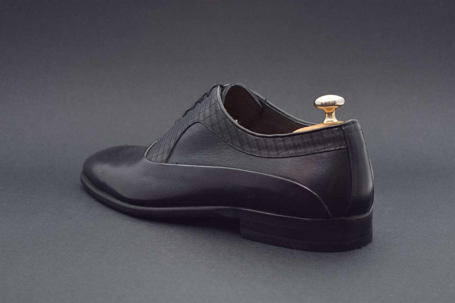 ZANE® Raffaello Derby Classic in Black 4813BLK - ZANE FASHION