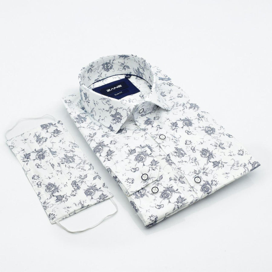 Loyal Ambition Slim Fit Shirt - ZANE FASHION