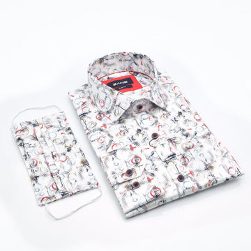 Pure Resolve Slim Fit Shirt - ZANE FASHION