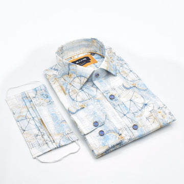 Royal Touch Slim Fit Shirt - ZANE FASHION